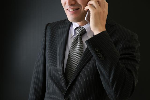 悪徳業者の電話